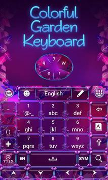 Colorful Garden Go Keyboard screenshot 3