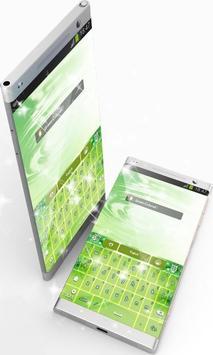Green Colored GO Keyboard screenshot 2