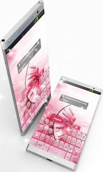 Pink Colored GO Keyboard screenshot 8