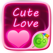 Cute Love GO Keyboard Theme icon