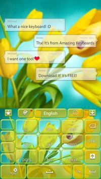 Tulip Keyboard apk screenshot