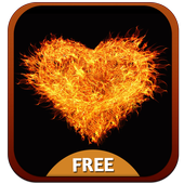 Love on Fire Theme icon