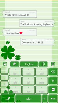 St. Patrick's Day Keyboard apk screenshot