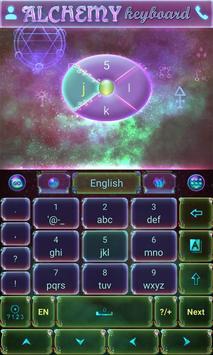 Alchemy GO Keyboard Theme screenshot 2