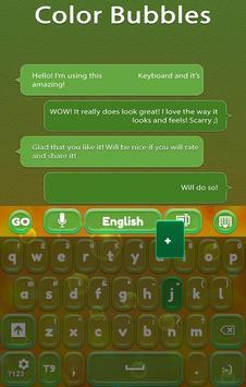 GO Keyboard Color Bubbles apk screenshot