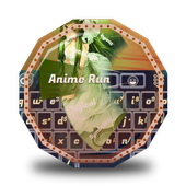 Anime Run GO Keyboard icon