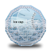 Ice cap GO Keyboard icon