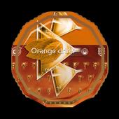 Orange drink GO Keyboard icon