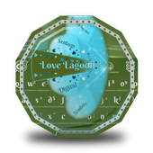 Love Lagoon GO Keyboard icon