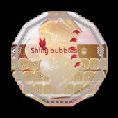 Shiny bubbles GO Keyboard icon