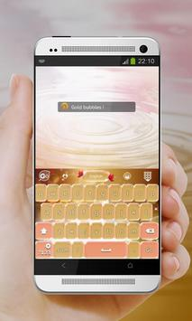 Shiny bubbles GO Keyboard screenshot 10