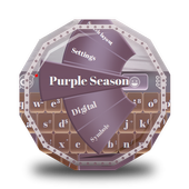 Purple Season GO Keyboard icon