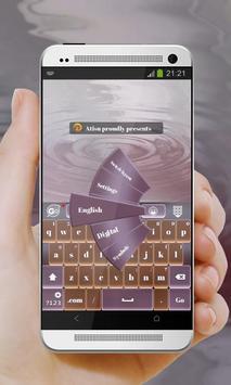 Purple Season GO Keyboard poster