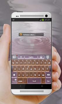 Purple Season GO Keyboard apk screenshot