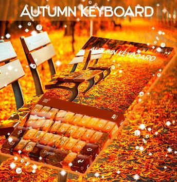 Amber Leaves Keyboard Theme screenshot 3