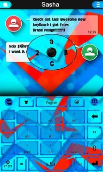 Origami Keyboard theme apk screenshot