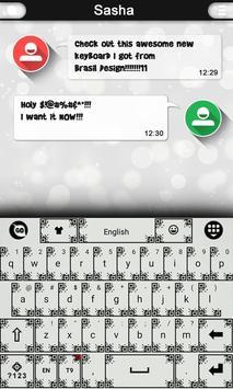 QR Code Keyboard Theme poster