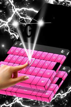 Black And Pink Keyboard screenshot 1