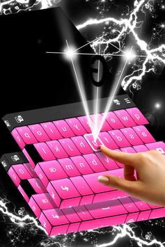 Black And Pink Keyboard screenshot 2