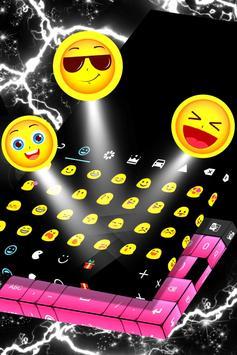 Black And Pink Keyboard screenshot 3