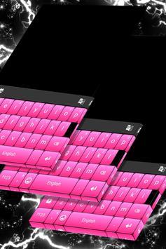 Black And Pink Keyboard screenshot 4