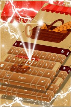 Bread Lover Theme Keyboard poster