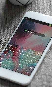 Color code Keyboard Skin apk screenshot