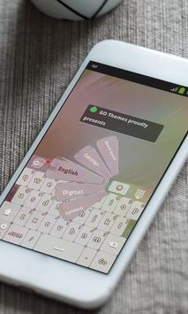 Colorful mosaic Keyboard Skin apk screenshot