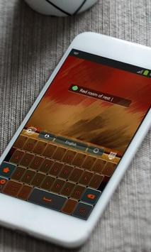 Comfortable Keyboard Skin apk screenshot