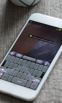 Cookies Keyboard Skin apk screenshot
