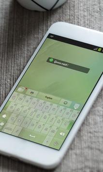 Green mist Keyboard Skin screenshot 3