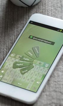 Green mist Keyboard Skin screenshot 2