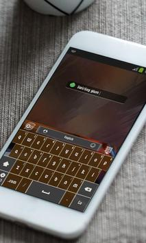 Dream Glance Keyboard Skin apk screenshot