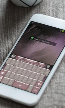 Love of unknown Keyboard Skin apk screenshot