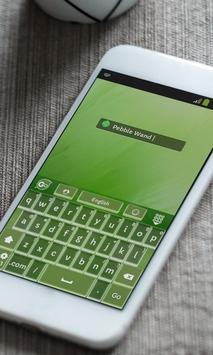 Pebble Wand Keyboard Skin apk screenshot