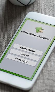 Pebble Wand Keyboard Skin poster