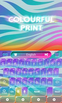 Colorful Print Keyboard screenshot 1