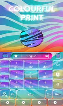 Colorful Print Keyboard screenshot 3