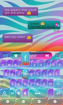 Colorful Print Keyboard screenshot 4