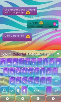 Colorful Print Keyboard screenshot 5