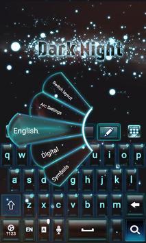 Night Sparks Keyboard Theme apk screenshot