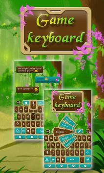 Fairytale Forrest Keyboard Theme poster