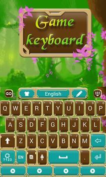 Fairytale Forrest Keyboard Theme screenshot 1