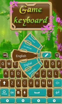Fairytale Forrest Keyboard Theme screenshot 2