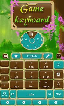 Fairytale Forrest Keyboard Theme screenshot 3
