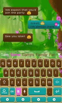 Fairytale Forrest Keyboard Theme screenshot 5