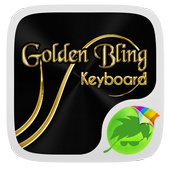 Black and Gold Keyboard Theme icon