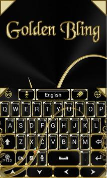 Black and Gold Keyboard Theme screenshot 4