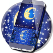 Sleepy Night Keyboard Theme icon