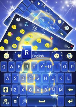 Sleepy Night Keyboard Theme screenshot 2